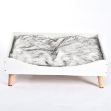 Wholesale Manufacturer Soft Luxury Solid Wooden Cat Beds Furniture Pet