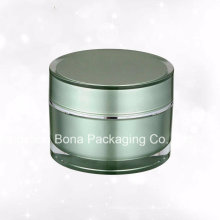 Frasco plástico acrílico cosmético da alta qualidade 60g para o creme facial