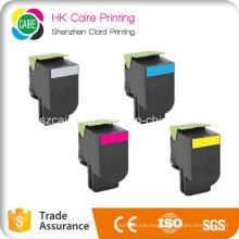 Color Toner Cartridge Compatible for Lexmark CS310 CS410 CS510