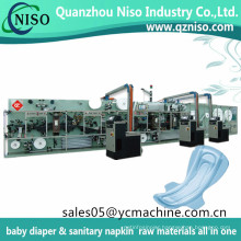 Seventh Generation Stay Free Cotton Material and Regular Type Organic Sanitary Women Pads Making Machine