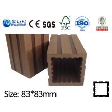 WPC Post para valla con SGS CE Fsc, Composición de plástico de madera de calidad Esgrima Lhma030