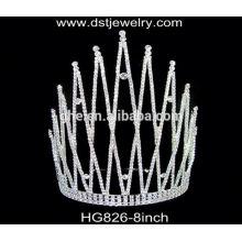 Coroas de fita coroas e véus de casamento tiara casamento safira tiara design de noiva por atacado