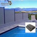 WPC, фехтование, композитный забор для бассейн