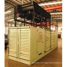 CH4 Over 35% Googol 1000kW Biogas Genset