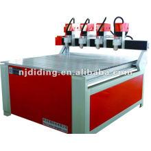DL-1218CNC máquina de talla de madera multi-cabeza