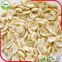 Dividir granos de maní pelado con buena calidad