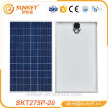 low-cost Poly 275w pv module 1000 watt solar panel price india