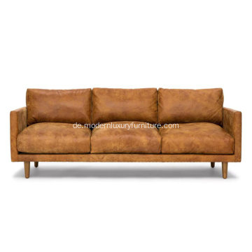 Nirvana Dakota Tan Ledersofa