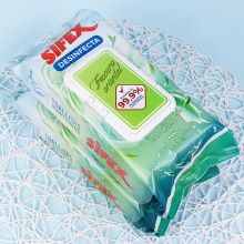 Eco-friendly Adults Sanitary Wipes Disinfecting