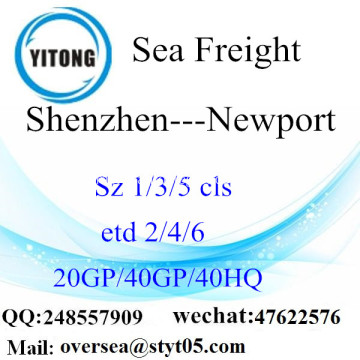 Shenzhen Port Sea Freight Shipping ke Newport