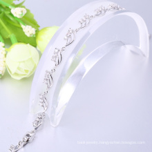 Most popular white gold cuff personalized bracelets christmas gift for women