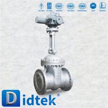 Directamente Fábrica Didtek API Flexible Wedge Api eléctrica 602 psb válvula de compuerta