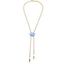 Простой и элегантный роскошный алмаз дамы ожерелье