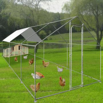 Walk In Chicken Run Grand enclos extérieur pour poulet