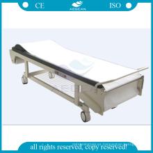 AG-ECCZ1 mesa de tratamiento de terapia de plataforma de sofá médico paciente eléctrico con soporte de papel reciclado