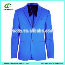 The European Bright Blue Blazer Jackets para 2015