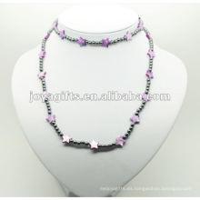 Moda de hematita púrpura estrella perla Shell Wrap
