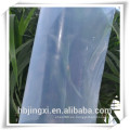 Hoja de silicona de alta temperatura de alta transparencia de la placa