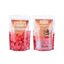 Custom Design Zipper Zip Lock Biodegradable Food Grade Stand up Pouch Plastic Kraft Paper Snack Food Packaging Bag