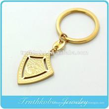 TKB-K0004 Armadura de Dios Escudo llavero con cruz más anillo