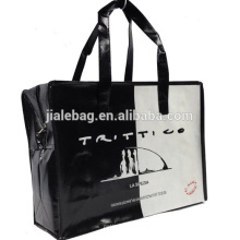 Factory Price recycled pp woven non woven zipper bag