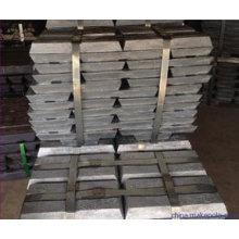 Слиток цинка 99.995% с ценой Hgih Цена по прейскуранту завода-изготовителя