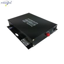 Convertisseur numérique fibre optique 2 canaux vidéo