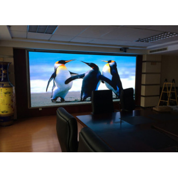 Display de pared de video de pantalla LED UHD a todo color