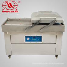 Máquina de envasado al vacío de alimentos de doble cámara