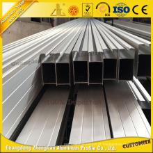 Perfil de extrusão de alumínio anodizado ISO 9001