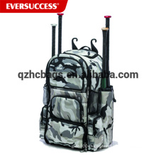 Softball Backpack Baseball Bat Bag con zapatos y bolsillos para el casco