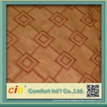 estiramiento de ante/suede tela vinilo abrigo/ante tapicería tela