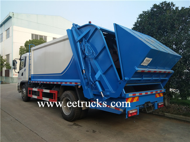 ISUZU Hydraulic Waste Compression Trucks
