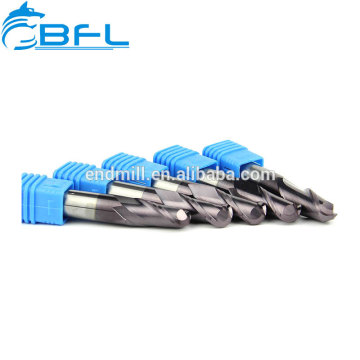 Solid Carbide Ball Nose End Mill Naco Blue Coated
