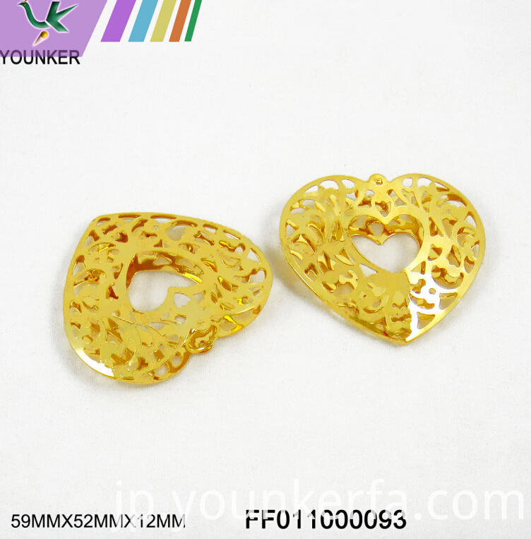 Gold Metal Ornament02