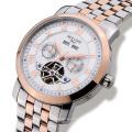 Hommes de luxe Watch Tourbillon Waterproof Date Semaine Acier inoxydable Automatic Mechanical Wristwatch Relogio Masculine