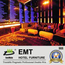 Conjunto de Sofá Club Noturno de Móveis de Obras (EMT-KTV05)
