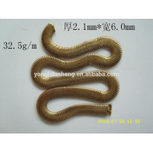 Alibaba manufacturers custom cheap metal material gold chains