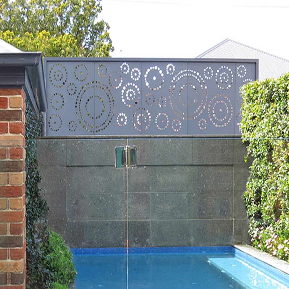 Laser Cut Metal Garden Panels