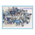 2015 Neue Design Maschine Cut Glas Zylinder Perlen