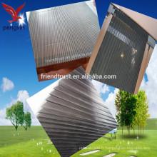 Nouvelle conception Écrans pliants décoratifs Fabrication de volets vitrés