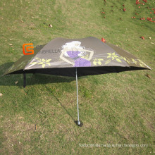 3 Fold Mini Umbrella with UV Protection (YSM0009)