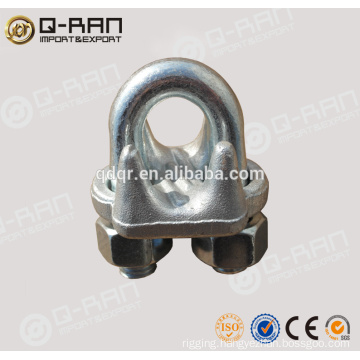 Cable Wire Clips/Rigging Q-RAN Drop Forged Galvanized Clip 450