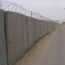 hot sale welded gabion basket / hesco barrier