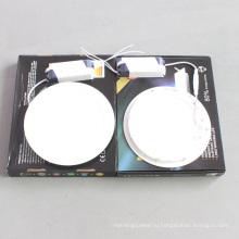 10USD 18W светодиодный затемняемый круглый квадратный потолочный светильник