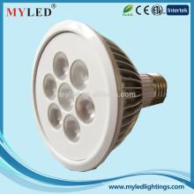 Faible teneur en lumen 18w E26 / 27 dimmable imperméable à l'eau par 38 lampes LED