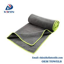 custom logo microfiber sports towel for YOGA