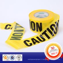 2015 Approvisionnement d'usine PE bande d'avertissement réfléchissante