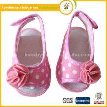 2015 0-1 jährige Baby Anti-Rutsch weiche Spitze Blume Schuhe Baby Baby Sandalen im Sommer