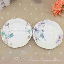 Nouvel An OEM ODM Service Disponible Porcelaine Violet Carré Céramique Service Set